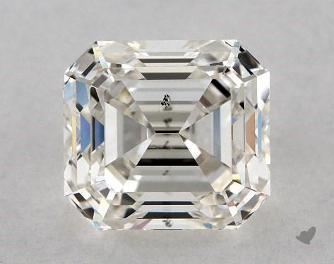emerald & asscher-cut diamonds - off-square