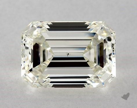 emerald & asscher-cut diamonds - 5.02ct emerald cut VS2