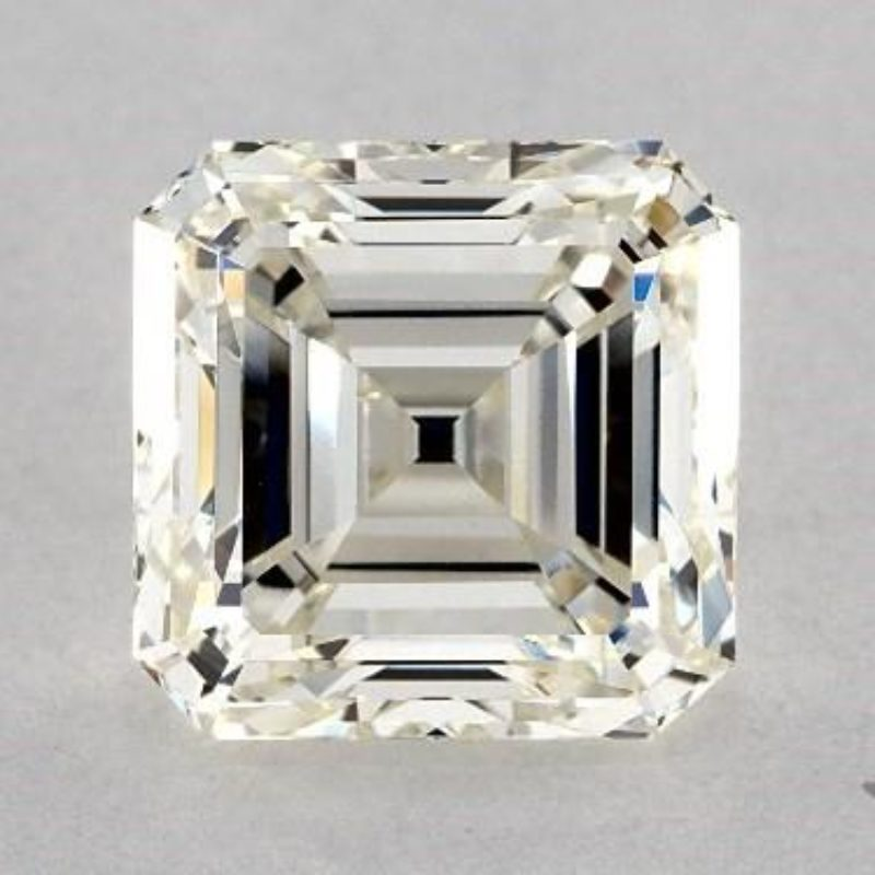 emerald & asscher cut diamonds - SI1 clarity