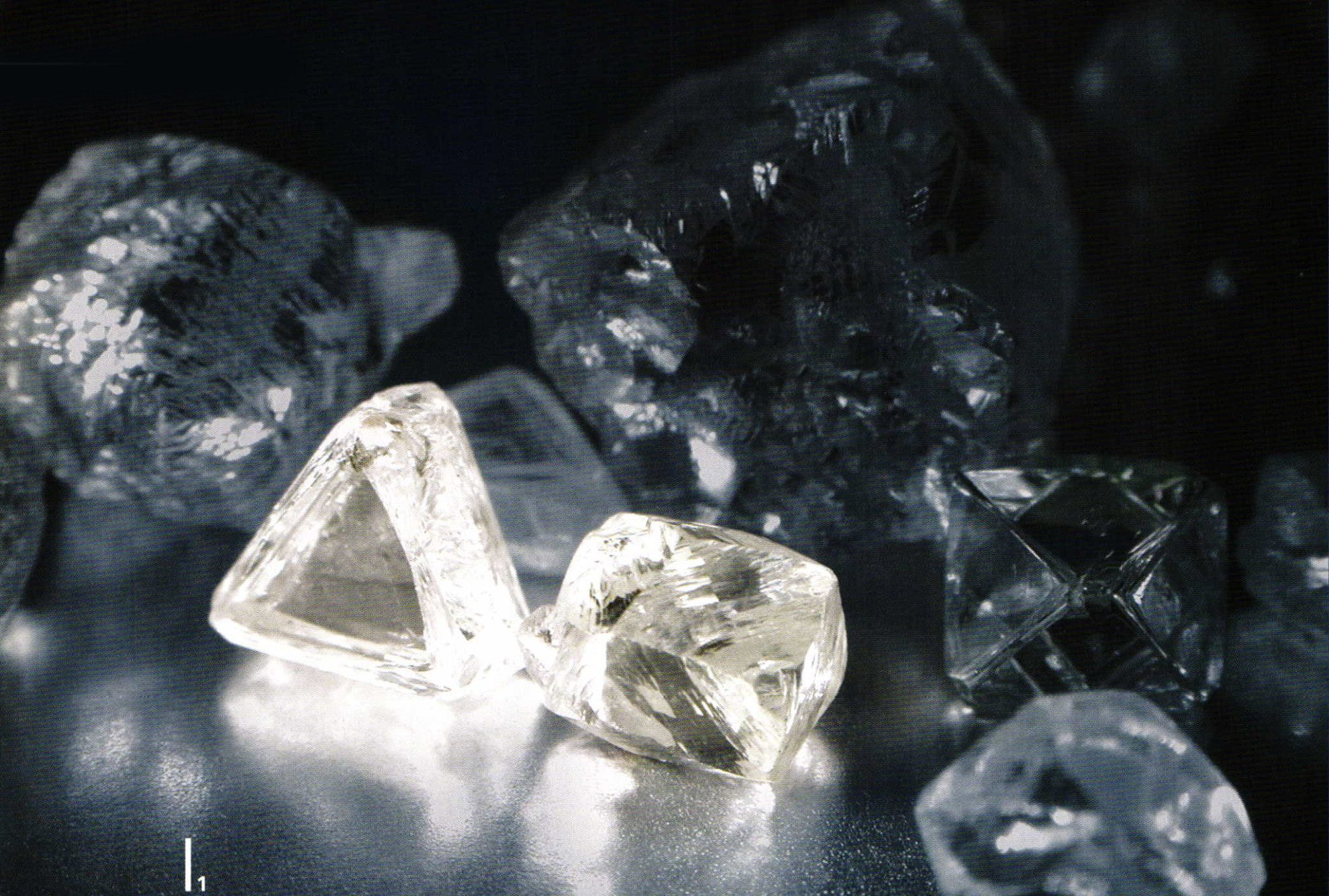 rough diamonds - famous diamonds