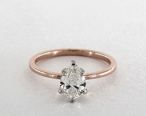 diamond shape - pear-cut solitaire engagement ring