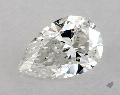 pear-shaped diamond - eye clean I1