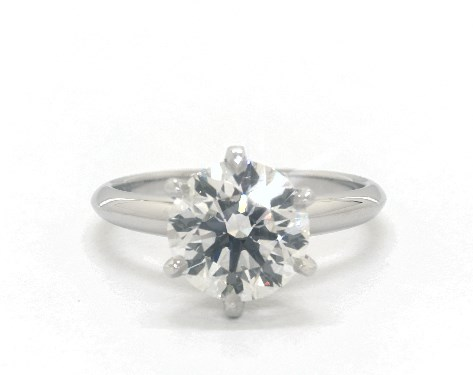 d color flawless diamond guide - I color VS2 diamond solitaire