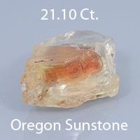 Fancy Barion Emerald Cut Oregon Sunstone, Dust Devil Mine, Oregon, U.S.A., 3.76 Ct. cts