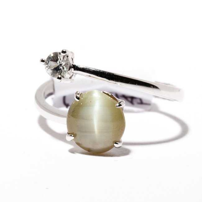 cat's eye chrysoberyl ring - expensive engagement ring stones