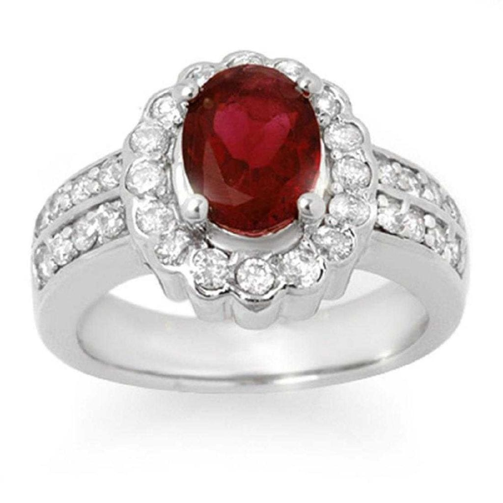 rubellite ring - expensive engagement ring stones