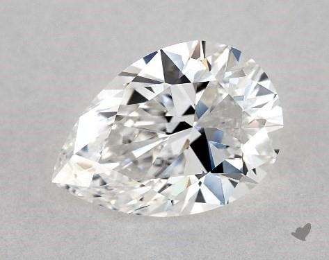 pear-shaped diamond guide - L/W ratio 1.43