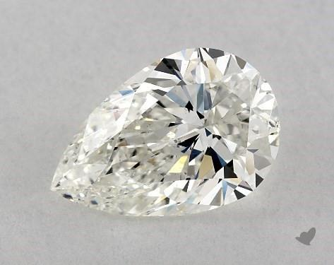pear-shaped diamond guide - L/W ratio 1.52