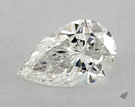 pear-shaped diamond guide - L/W ratio 1.61