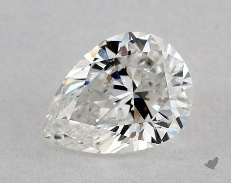 pear-shaped diamond guide - L/W ratio 1.36