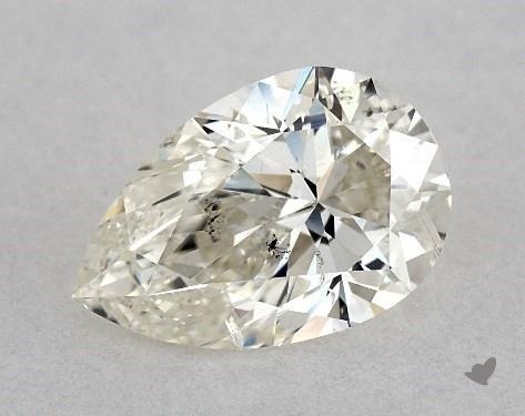 pear-shaped diamond guide - flat end