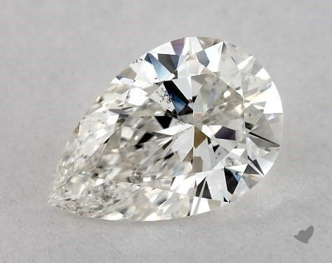 pear-shaped diamond guide - excellent shape