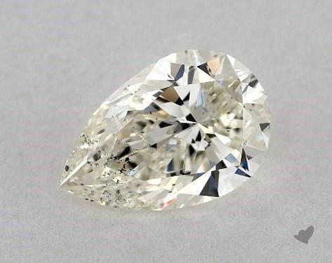 pear-shaped diamond guide - poor symmetry