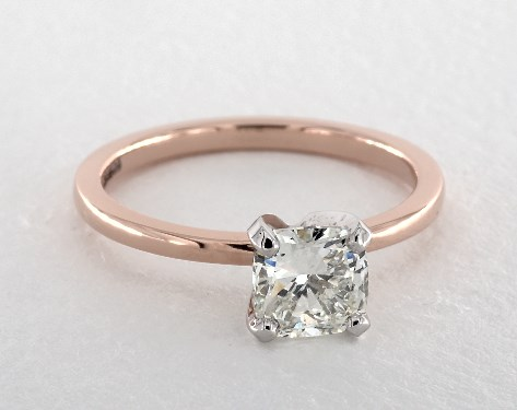 cushion-cut diamonds - cushion-cut engagement ring