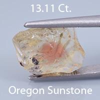 Radiant Step Superman Cut Sunstone, Dust Devil Mine, Oregon, U.S.A., 5.53 Ct. cts