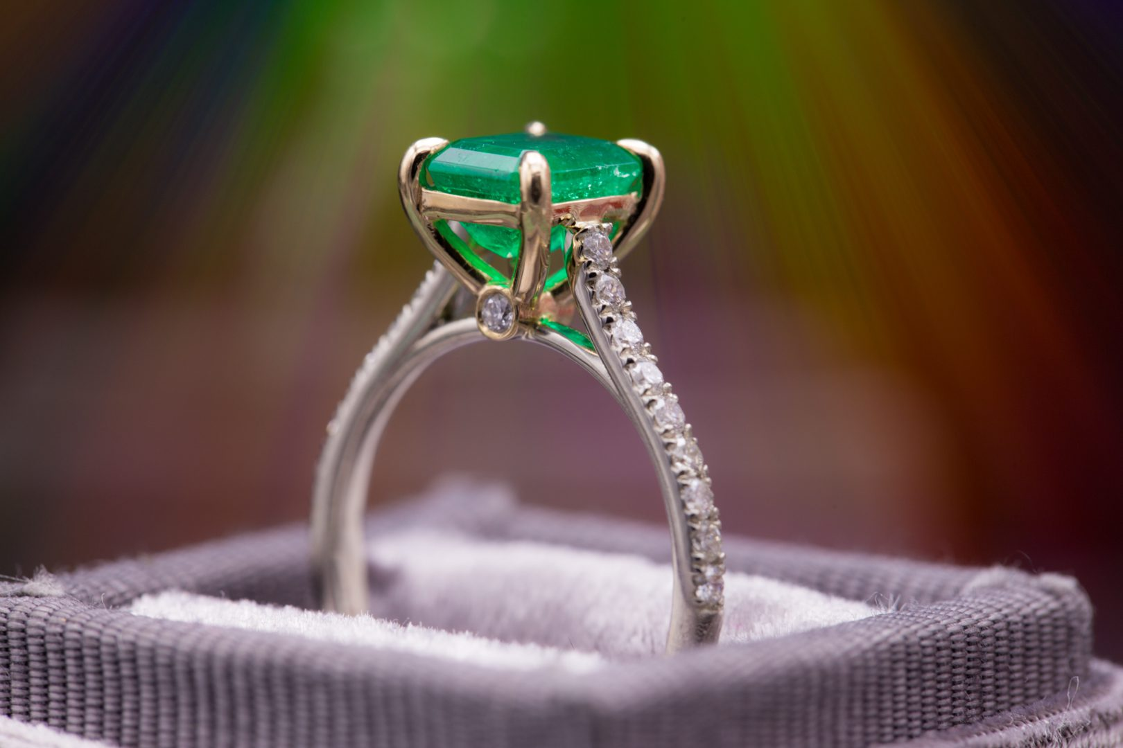 cathedral style - engagement ring setting