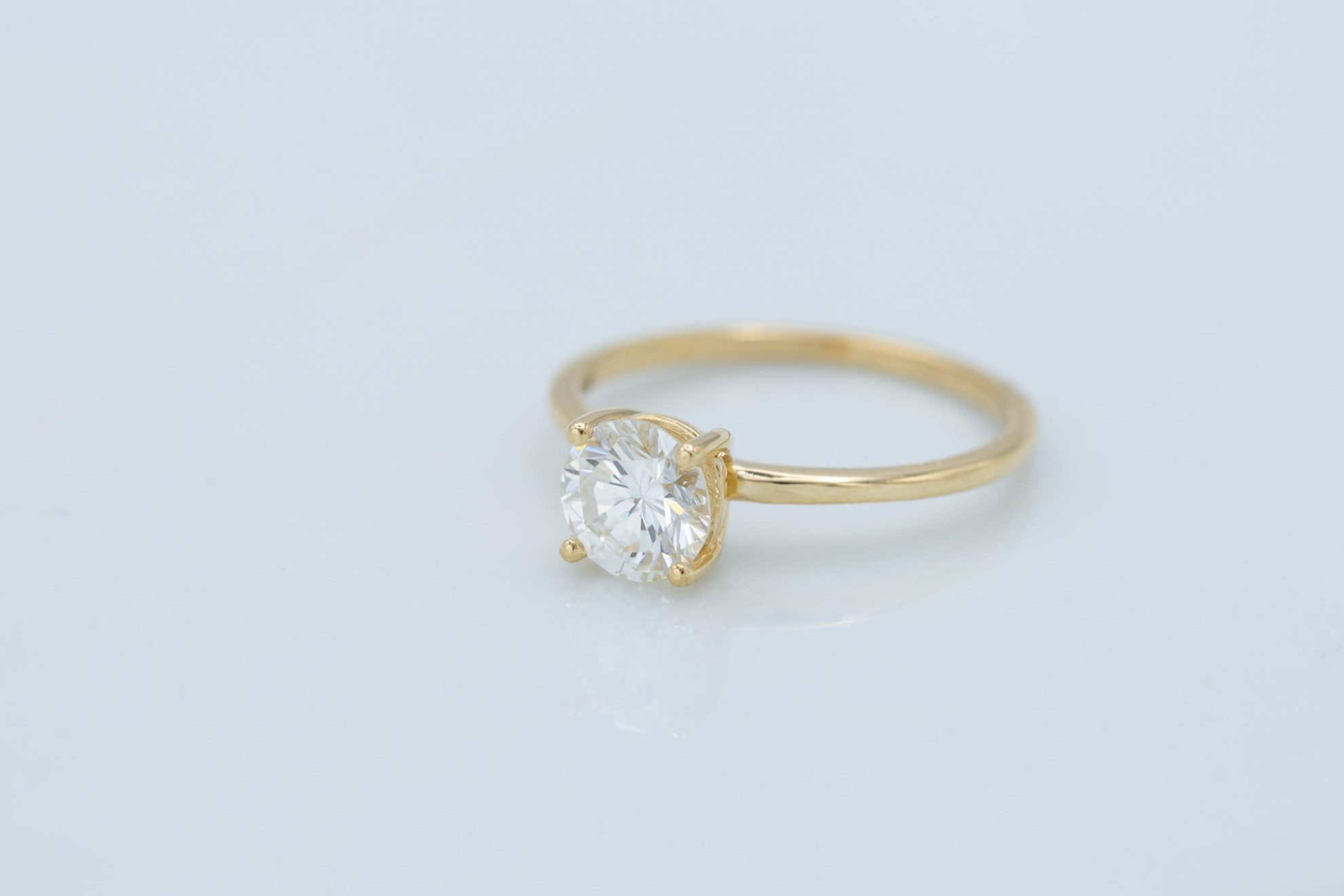 classic solitaire - engagement ring setting