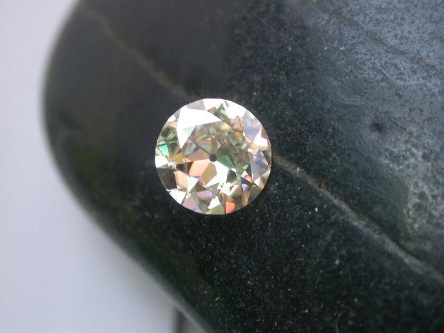 moissanite vs diamond - color