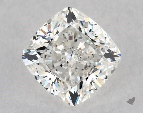 cushion-cut diamonds - crushed ice