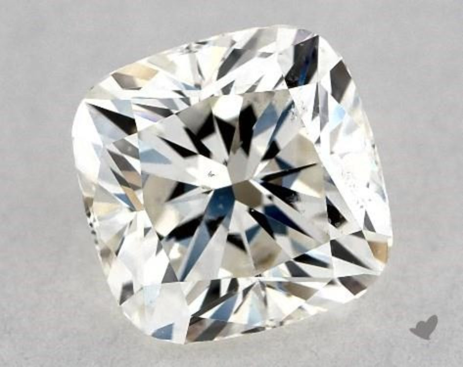 cushion-cut diamonds - L/W 1.00