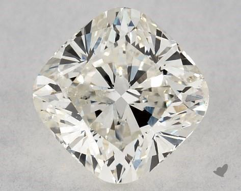 cushion-cut diamonds - SI2 eye-clean