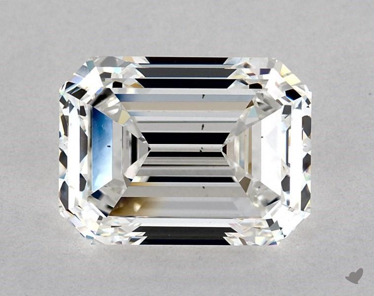 five-carat diamond guide - emerald-cut VS2