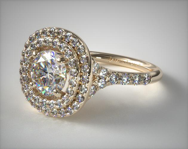 double halo - engagement ring setting