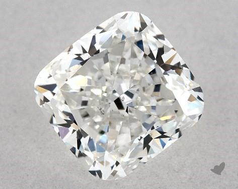 cushion-cut diamonds - flat squared edges