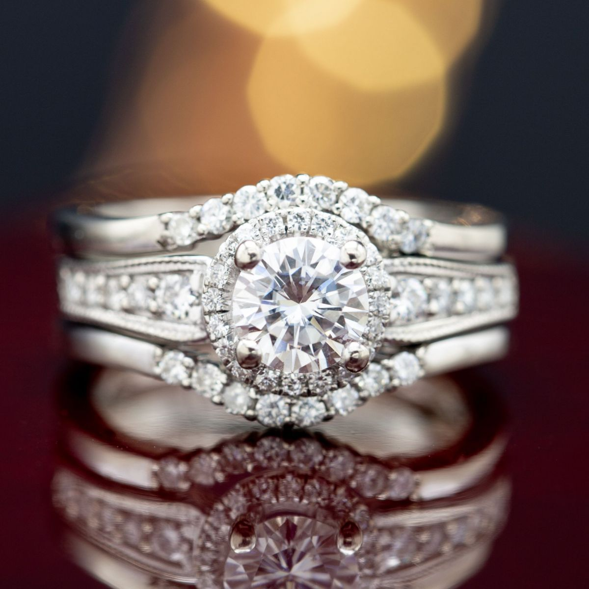 victorian style - engagement ring setting