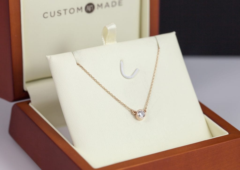 0.25ct solitaire pendant - what carat diamond should I choose