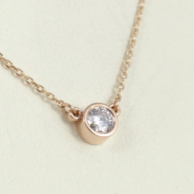 0.25-ct pendant - what carat diamond should I choose