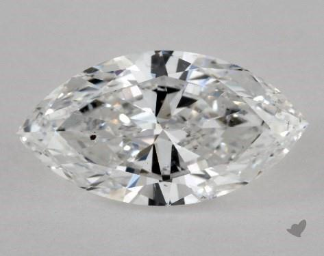 si1 not eye-clean - marquise-cut diamonds