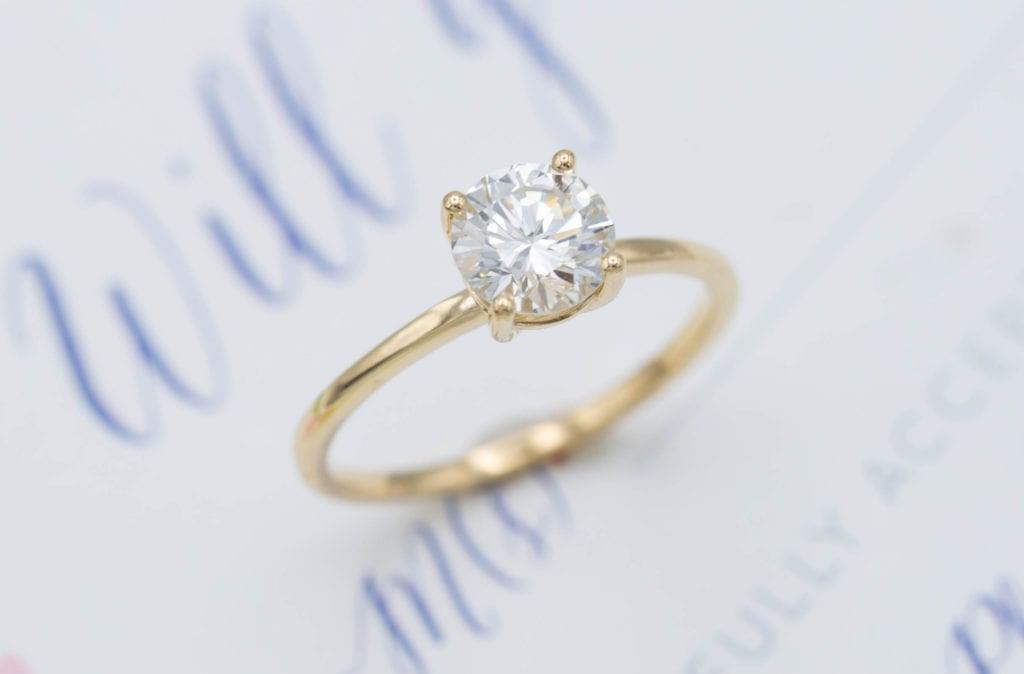 0.91 ct solitaire - what carat diamond should I choose