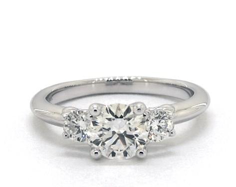 1.00ct three stone engagement ring - what carat diamond should I choose