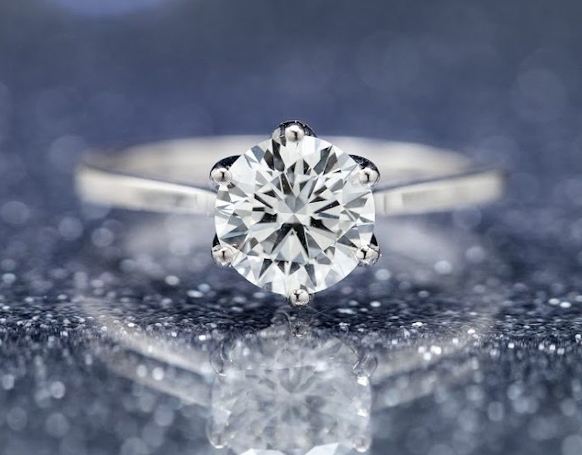 1.30-ct solitaire - what carat diamond should I choose