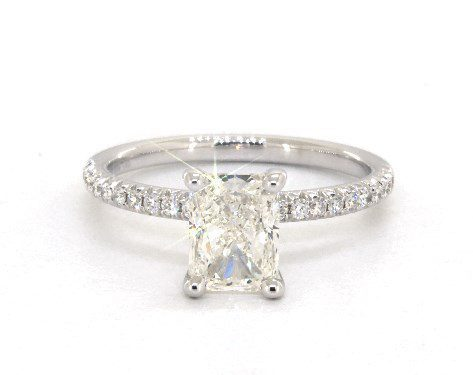 K color - radiant-cut diamonds