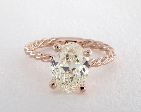 k-color oval - three-carat diamond guide