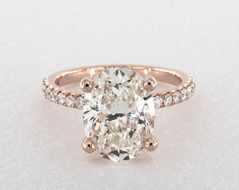 oval-cut engagement ring - three-carat diamond guide
