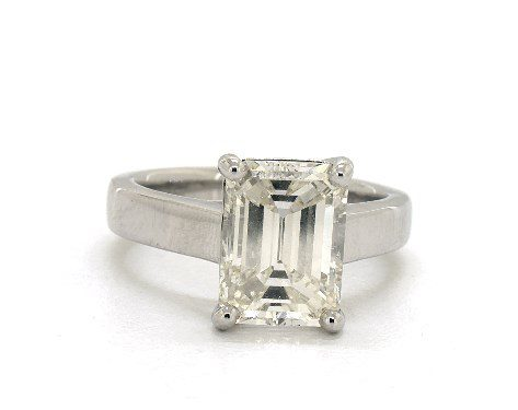 J-color emerald-cut - three-carat diamond guide