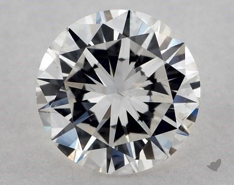 fish eye effect - diamond girdles