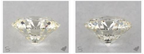 comparison - diamond girdles