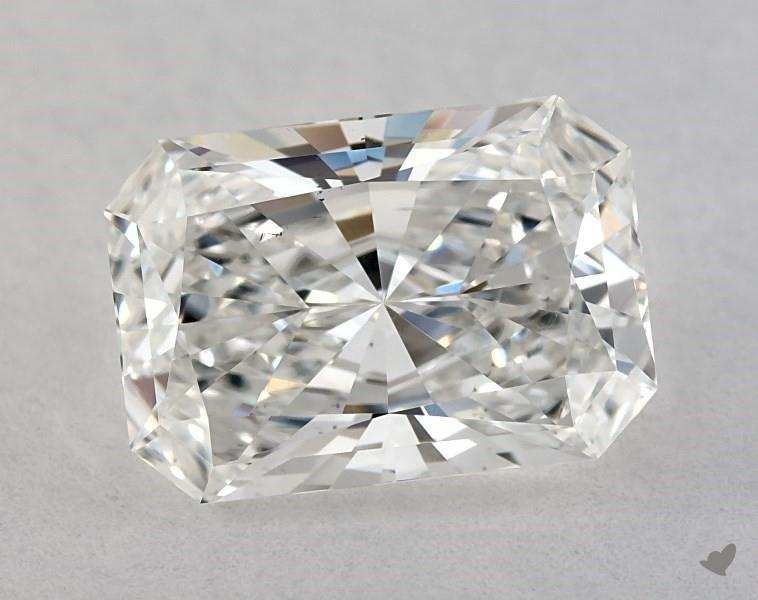 extremely elongated - radiant-cut diamonds