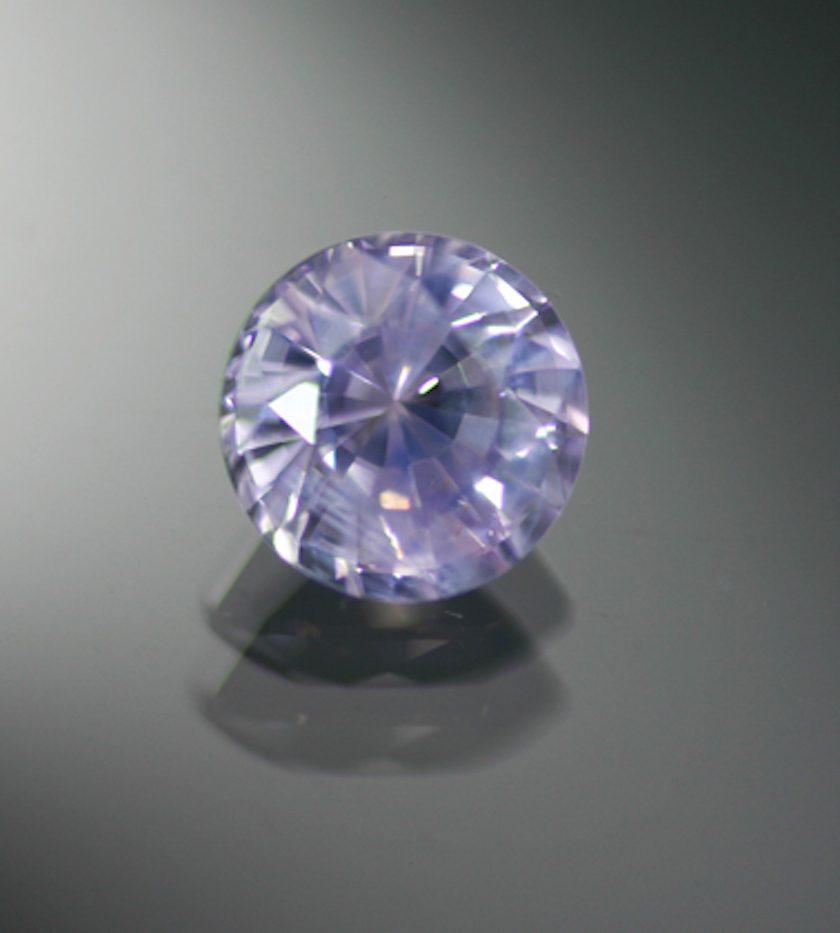 pastel purple sapphire - classic engagement ring stones