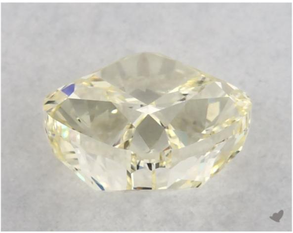 yellow diamond - diamond girdles