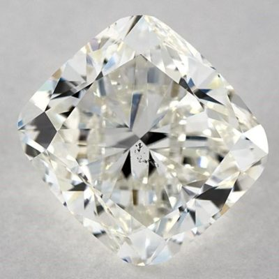 SI1 clarity cushion - three-carat diamond guide