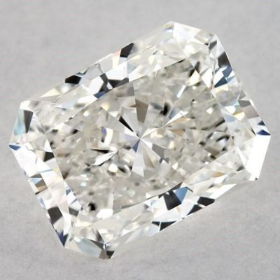 eye-clean SI2 - radiant-cut diamonds