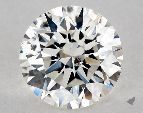 si2 inclusion - two-carat diamond ring guide