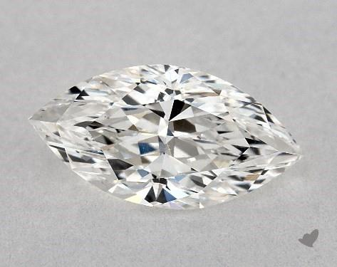 Flat wings - marquise-cut diamonds