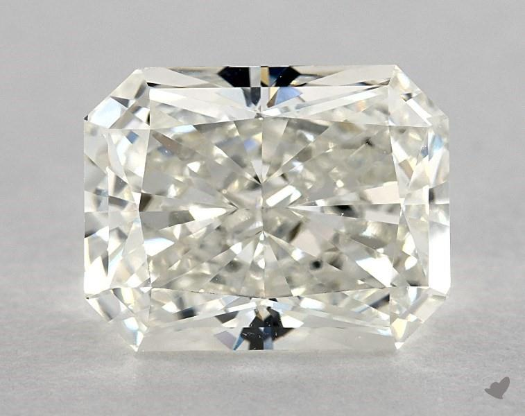 moderately truncated corners - radiant-cut diamonds