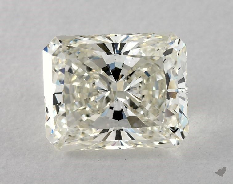 slightly truncated corners - radiant-cut diamonds